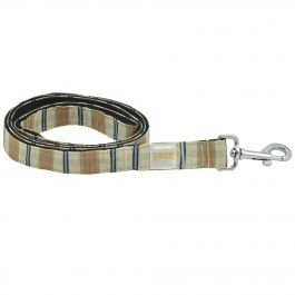 Stripe Nylon Dog Leash